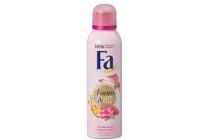 fa shower foam amandelolie en magnolia