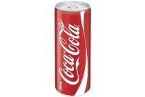 coca cola in blik