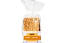 lidl luxe crackers rivercote kaas