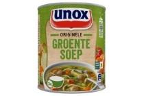 unox soep in blik originele groentesoep