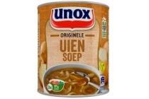 unox soep in blik originele uiensoep