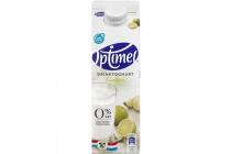 optimel drinkyoghurt limoen 0 vet