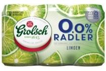 grolsch radler 0 0 limoen 6x33cl