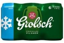 grolsch premium pilsner 6 pack 6 x 33 cl gekoeld