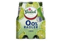 grolsch 0 0 radler limoen flessen 6 x 30cl
