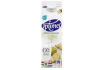 optimel drinkyoghurt limoen