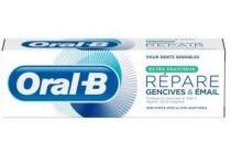 oral b tandvlees en glazuur repair extra fris tandpasta