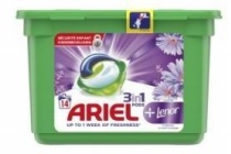 ariel 3 in 1 pods lenor