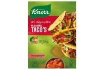 knorr wereldgerechten mexicaanse taco s