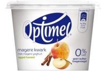 optimel magere kwark appel kaneel