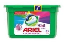 ariel vloeibaar wasmiddel 3 in 1 pods color