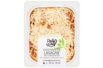 daily chef vegetarische lasagne met groenten