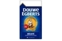 douwe egberts snelfilter koffie decafe