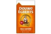 douwe egberts snelfilter half cafeine