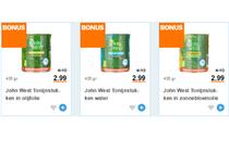 john west tonijnstukken 3 pack