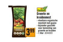 floraself groente  en kruidenmest
