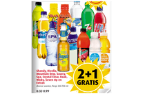 shandy rivella mountain dew sourcy spa crystal clear raak wicky seven up en extran
