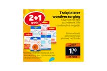 trekpleister wondverzorging nu 21 gratis