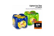 lipton ice tea 4 pak voor euro199
