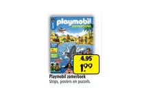 playmobil zomerboek