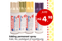 edding permanent spray