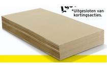 hardboard vloerplaat