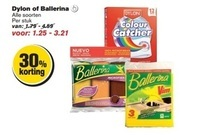 hele assortiment dylon of ballerina