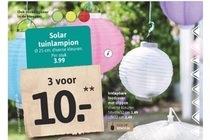 solar tuinpamlion