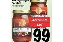 koningsvogel sambal