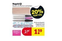 beauty essentials nagelvijl