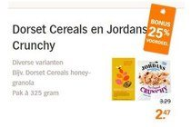 dorset cereals en jordans crunchy