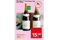 montagny 1er cru franse wijn