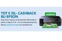 tot euro50 cashback bij epson