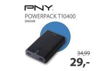 pny powerpack t10400 mobiele batterij