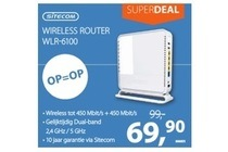 sitecom wireless router wlr 6100