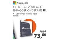 microsoft office 365 voor mbo en hoger onderwijs