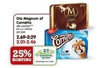 ola magnum of cornetto