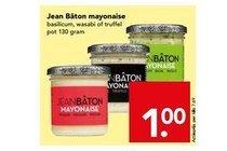 jean bacircton mayonaise