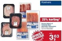 horeca selecect of hollands best gesneden vleeswaren