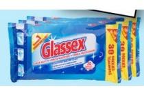 glassex schoonmaakdoekjes