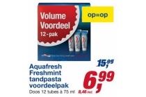 aquafresh freshmint tandpasta voordeelpak