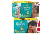 pampers luiers baby dry