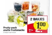 fruity pack snelle fruitsnack