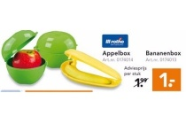 bananen of appelbox