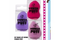 w7 make up spons power puff