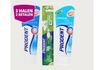 prodent of zendium tandpasta en tandenborstels