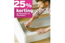 25 korting op flexxstairs en flexxfloors