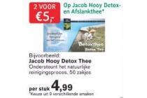 jacob hooy detox en afslankthee