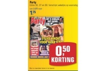 party editie 36 37 en 38