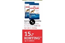royal canin hondenvoeding